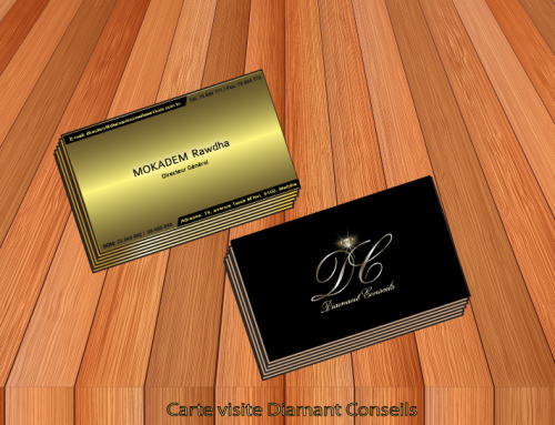 carte visite diamant